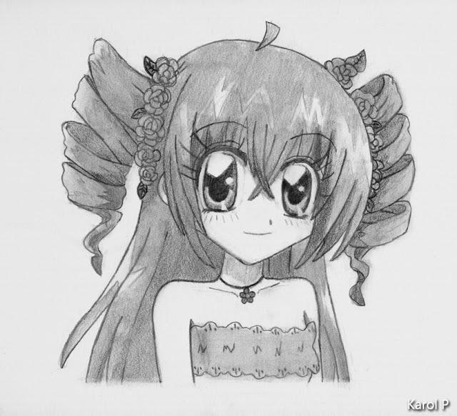 Kilari Tsukishima - Graphite Drawing