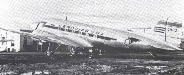 A Cuban DC-3 in 1946 worldwartwo.filminspector.com