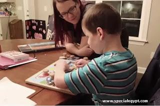 نصائح لأمهات الأطفال ذوى الإعاقة البصرية