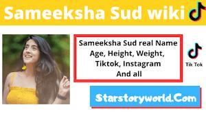Sameeksha Sud [ TikTok Star ] Boyfriend, Biography, Age & Salary, Family & More