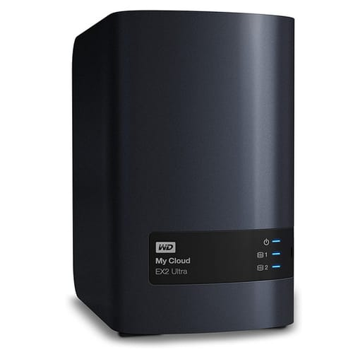 WD 24TB My Cloud EX2 Ultra Network Attached Storage