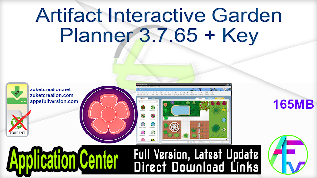 Artifact Interactive Garden Planner 3.7.65 + Key