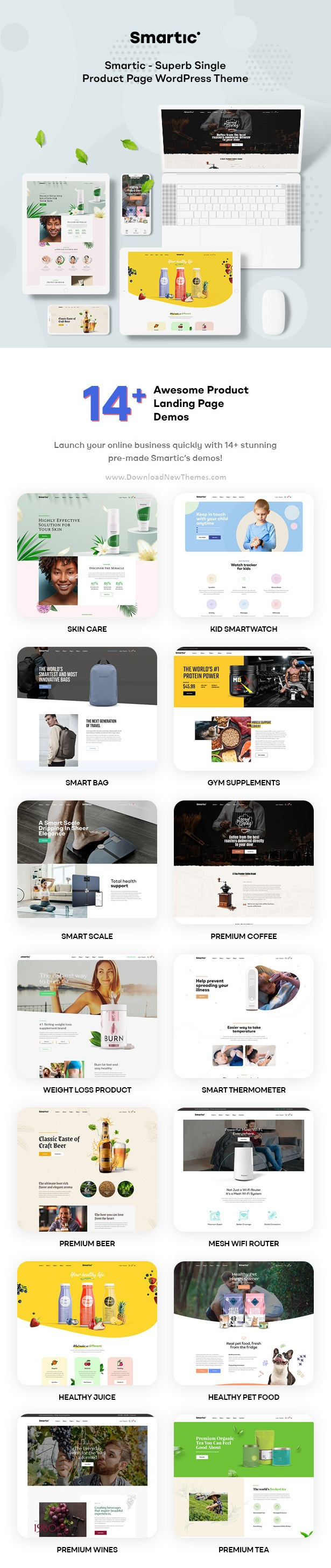 Product Landing Page WooCommerce Theme