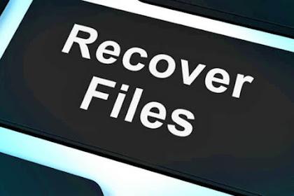 Cara Mengembalikan File yang Terhapus di Laptop PC Paling Ampuh 2020