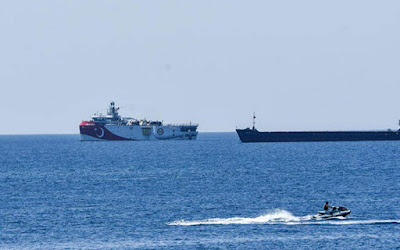 Turkey defies Greece's warnings and begins eastern Mediterranean mission