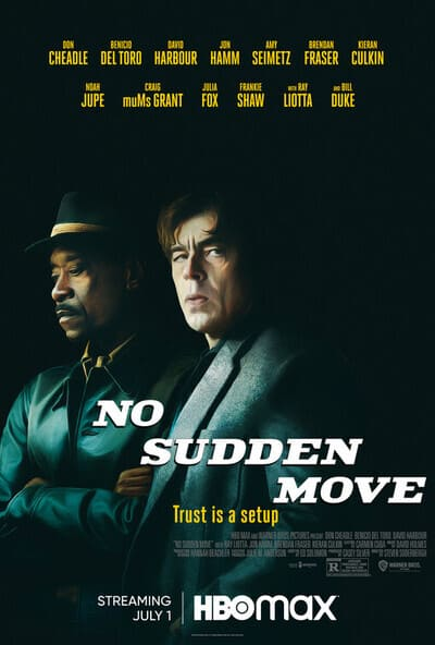 Film No Sudden Move Sinopsis & Review Movie (2021)