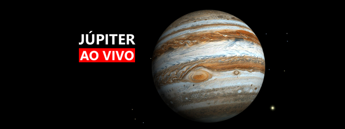 jupiter ao vivo com telescopio em maxima aproximação com a terra