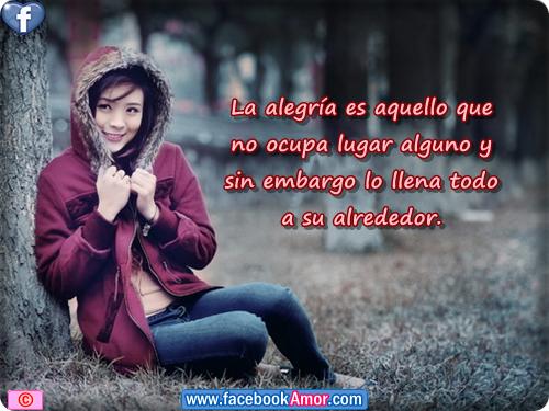 Frases De Alegria Para Facebook: Imagenes Con Frases Bonitas De Alegria Para Facebook