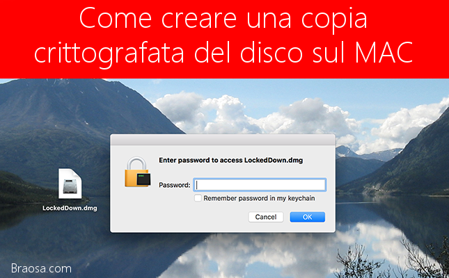 Come fare una copia immagine del disco su un PC MAC