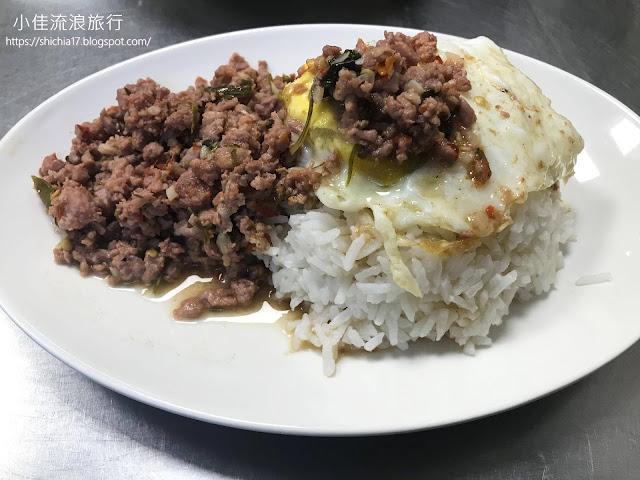 老麵攤-打拋豬肉飯