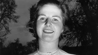 Margaret Thatcher, antes de casarse