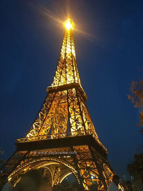 Eiffel Tower at Waste to wonder park, New Delhi