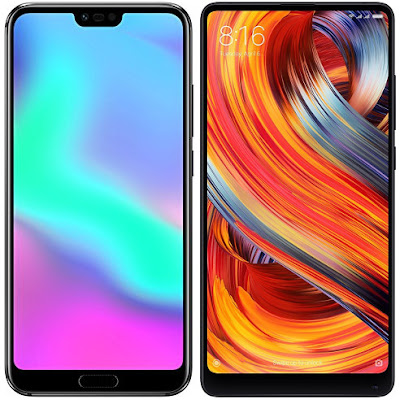 Honor 10 vs Xiaomi Mi Mix 2
