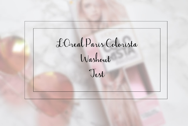 L'Oreal Paris Colorista Wash Out Hair Colour - Test
