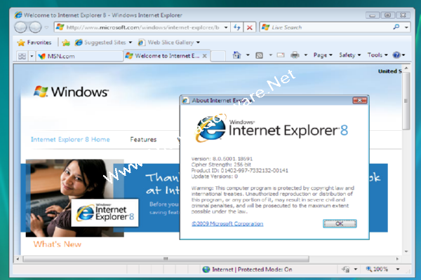 I want to used Internet Explorer 8 on windows-7 32 bit sysytem and am having trouble finding a link to it. If someone can help please send me the link so I can down load it or any suggestions you may have.