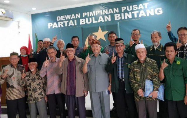 Tegas! Majelis Syuro, MPW dan Eksponen PBB Dukung Prabowo-Sandi