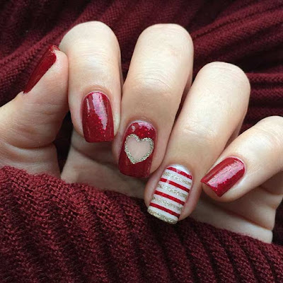 The red color is popular in all things such as fashion ✘ 26+ Pretty Red And Leopard Print Nails Ideas For Special Occasions
