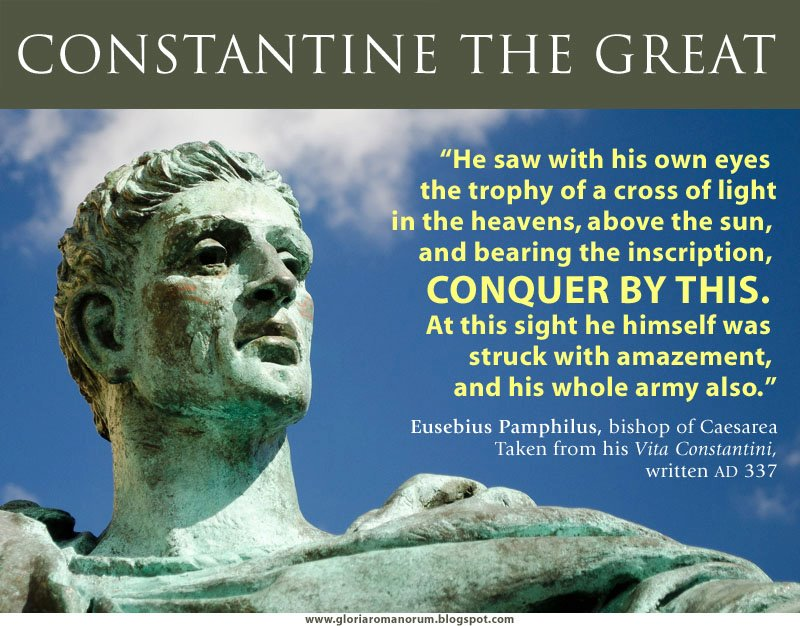 constantine as a christian hero essay Free essay: constantine as a christian hero christianity's history is filled with division, controversy, and conflict one of the most important people who.