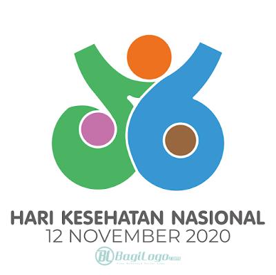 Logo Hari Kesahatan Nasional ke-56 (2020) vector