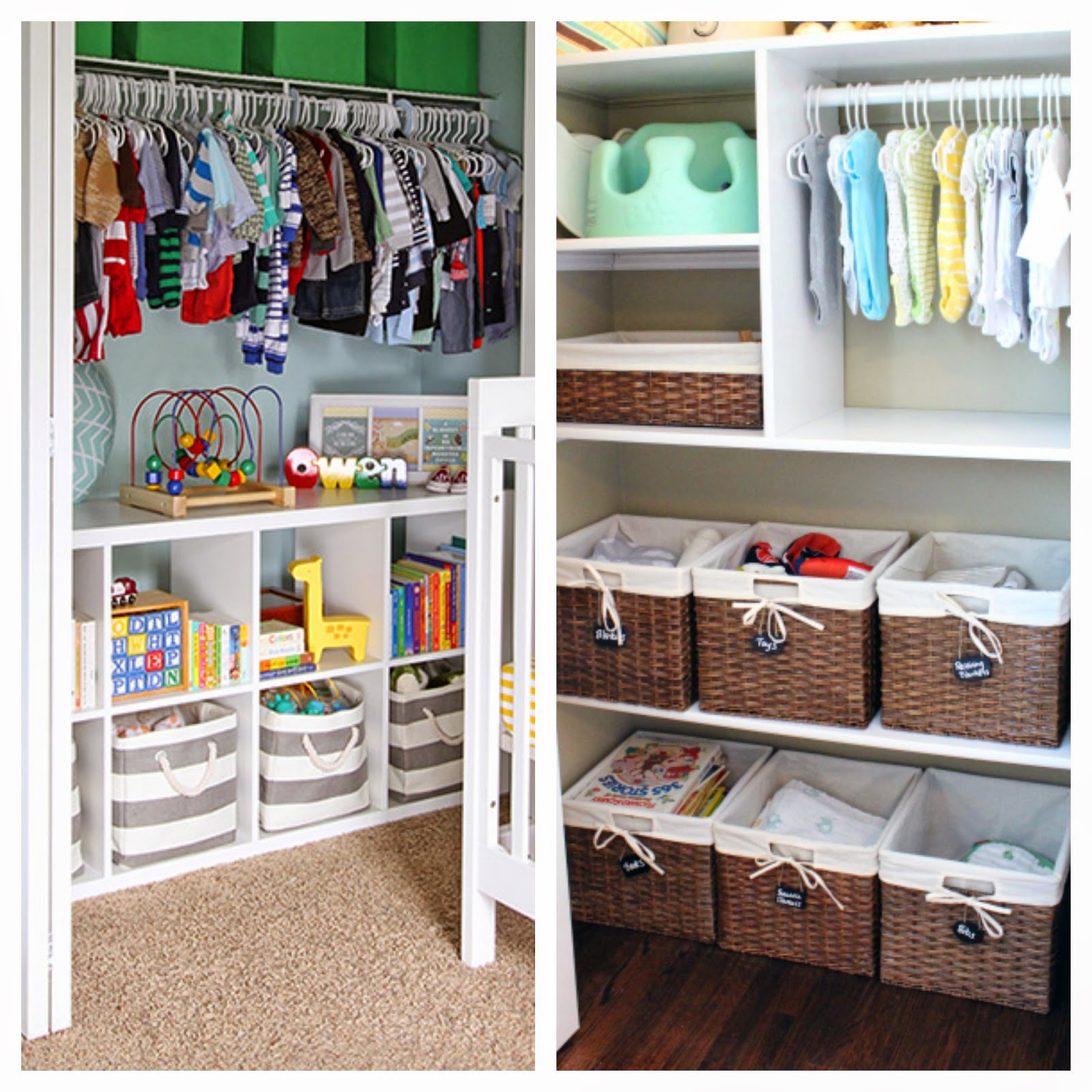 Organizing Plus 123 Nursery Organization Tips