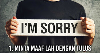 Minta Maaf lah Dengan Tulus Saat Pasangan kamu Lagi Ngambek