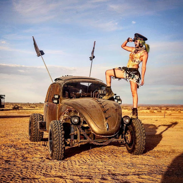 Wasteland Weekend Zombie Baja Bug Bug-out Vehicle