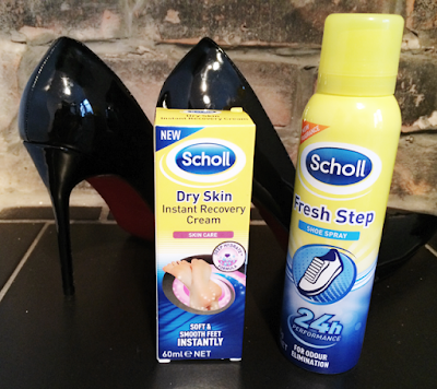 Scholl, Scholl Instant Recovery Cream, Scholl Fresh Step, Keeping Feet Fresh in Summer