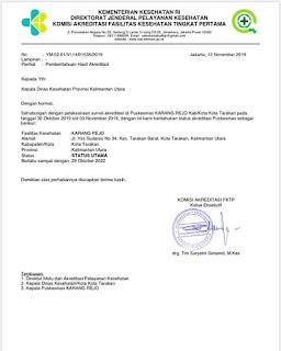 Puskesmas Karang Rejo Kota Tarakan Meraih Akreditasi Status Utama dari Kementerian Kesehatan - Tarakan Info