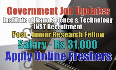 INST Recruitment 2020