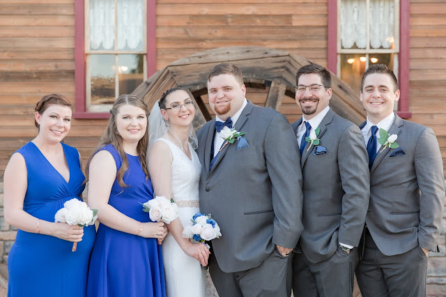 Shenandoah Mill Wedding Party Portrait in Gilbert AZ