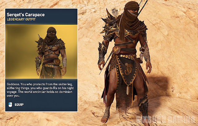 assassins creed origins outfits list