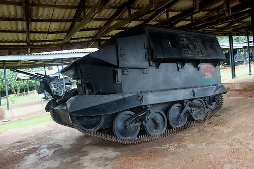 Check out this Biafra war artilleries and machines (photos)