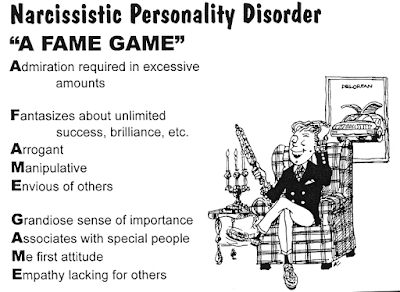 Основные проявления по которым можно распознать нарциссическое личностное расстройство