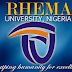 Rhema University Part-Time Degree Admission Form 2020/2021
