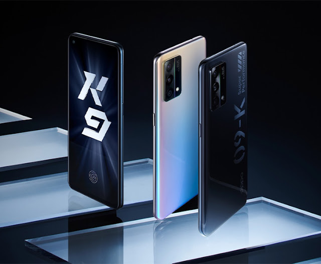 Oppo K9 Unveiled with 65W Charging and Snapdragon 768G Processor