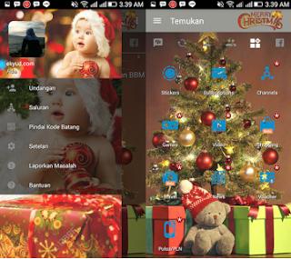 BBM MOD Spesial Natal v3.2.0.6 APK