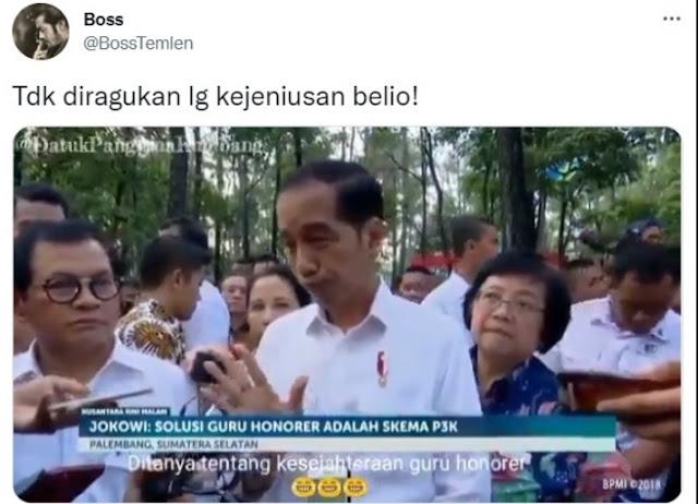 Netizen +62 Emang Gak Ada Lawan... Ini Video Bukti Kejeniusan Jokowi