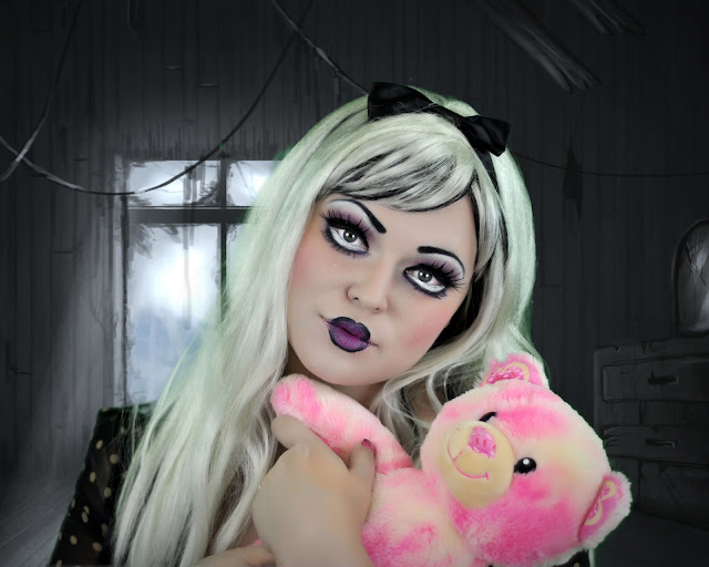 creepy doll makeup (photos only) | Fun with Nancy