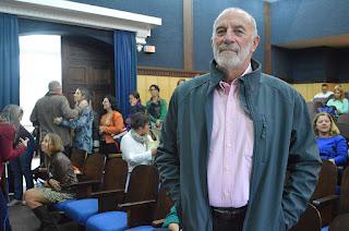 Paulo Colombo, membro do Observatório Social, destaca que a Semana da Cidadania visa aproximar a comunidade e a gestão pública, além de estimular o resgate de valores cívicos