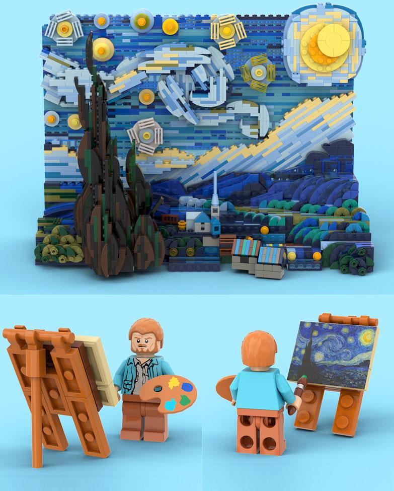 ゴッホの星月夜:Vincent van Gogh: The Starry Night