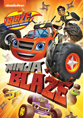 Blaze And The Monster Machines Ninja Blaze |2019| |DVD| |NTSC| |R1| |Latino|