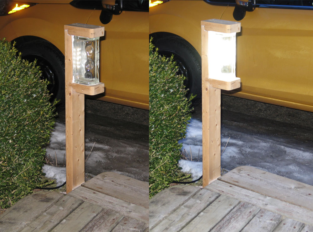 Genial A Very Bright 1 Watt Diy Led Garden Light