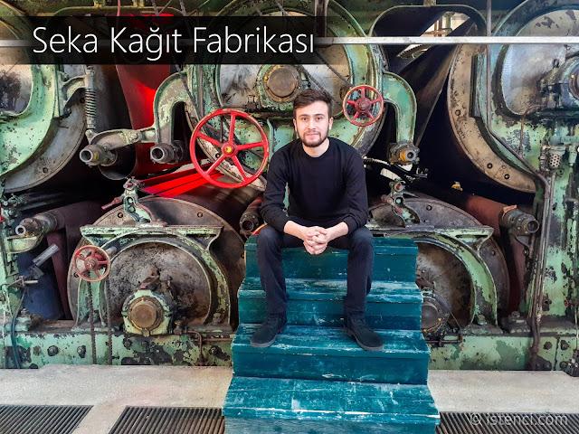 Harun İstenci Kocaeli, İzmit'de bulunan Müze olarak hizmet veren Seka Kağıt Fabrikasında