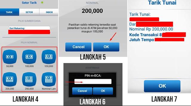 Cara Mengambil Uang di ATM BCA Tanpa Kartu
