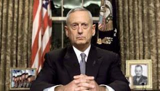 El secretario de Defensa de EEUU, James Mattis