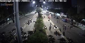 CCTV KEADAAN YG SEBENARNYA DI KPU, BAWASLU, DPR/MPR