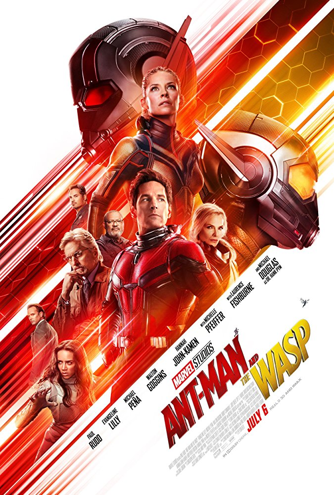 Cinematic Releases: Ant-Man And The Wasp (2018) - Reviewed