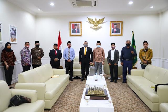 Pemkab Muba dan DPW APSI Sumsel Sinergi Bangun Pelayanan Hukum Syariah di Muba