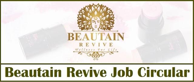 Beautain Revive Job Circular