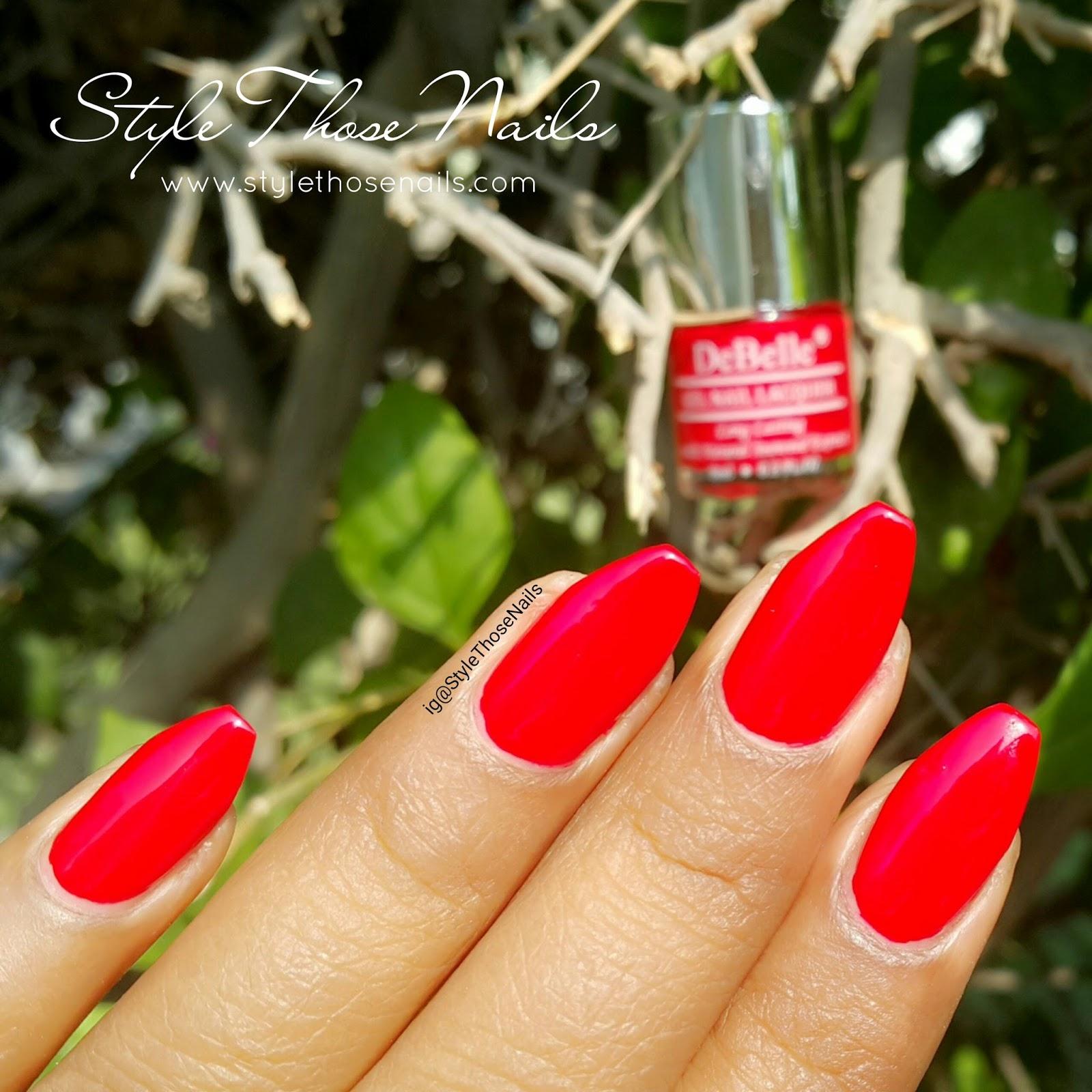 Style Those Nails: debelle nail polish